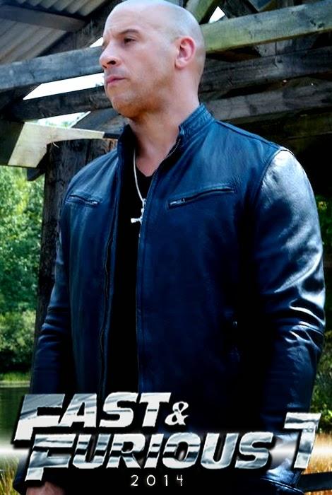 Vin Diesel pe platourile de filmare Fast And Furious 7