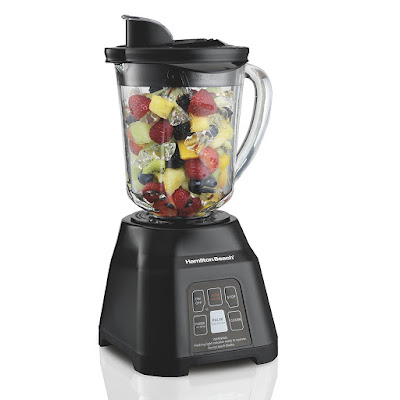 Hamilton Beach Smoothie Smart Blender with 40 oz Glass Jar & 700 Watts (56207)