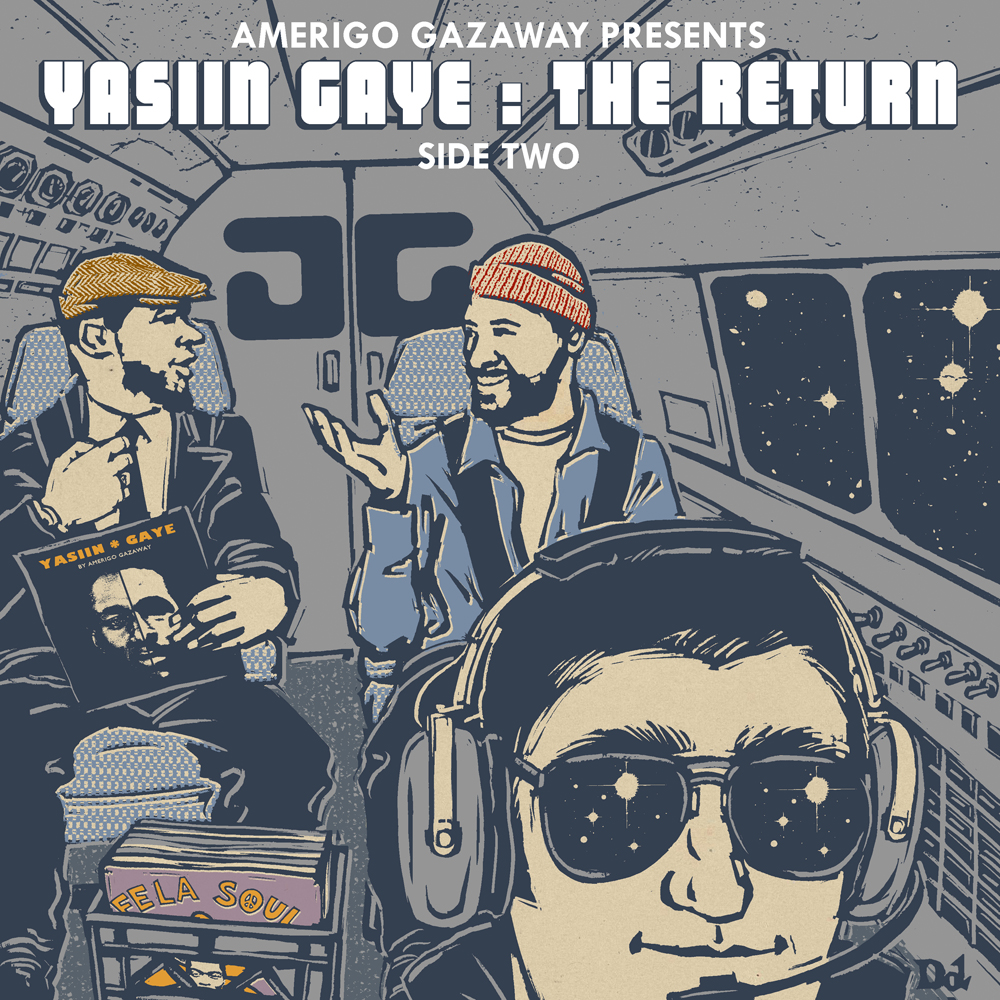 Yasiin Gaye: The Return | Side Two - Mos Def x Marvin Gaye Mashup ( Stream und Free Download )
