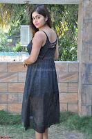 Pragya Nayan New Fresh Telugu Actress Stunning Transparent Black Deep neck Dress ~  Exclusive Galleries 015.jpg