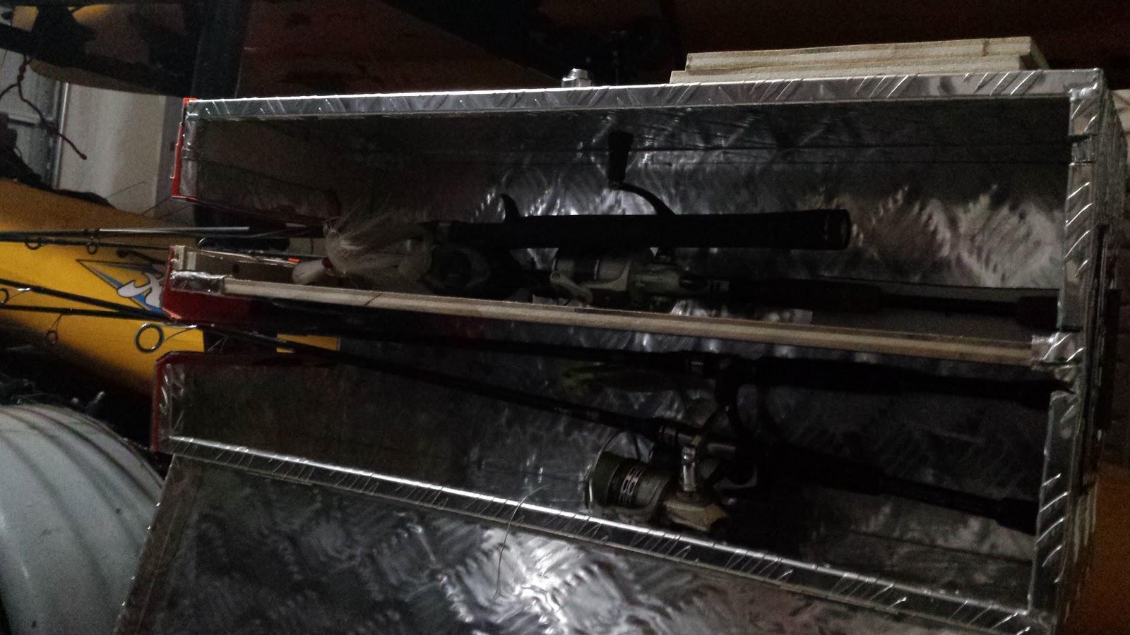 Fishxscale Diy Locking Rod Transport For A Kayak Trailer