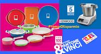 Logo Con Auchan e Simply vinci 100 batterie di pentole Pantone e 5 Cooking Machine Kenwood