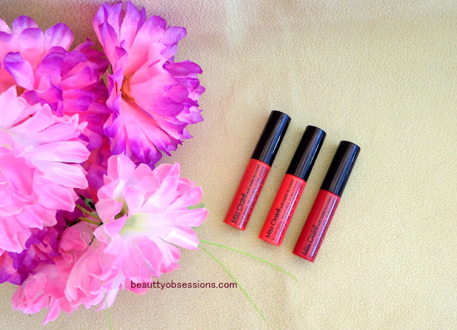Miss Claire Lip Creams [Shade 30, 33 & 40] Review & Swatches ... ❤❤