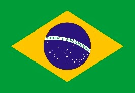 Dibujo de la bandera de Brasil