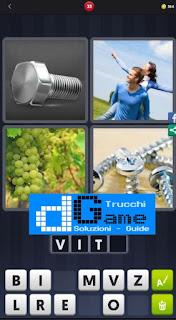 4 Immagini 1 Parola livello 33