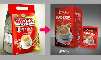 kopi radix kemasan baru