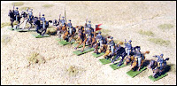 ACW59 Mounted Cavalry - Charging (USA)