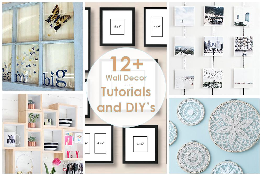 tutorials and DIYs/рукодельный обзор, своими руками, декор дома, декор стен, wall decor