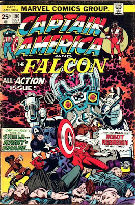 Captain America and the Falcon #190
