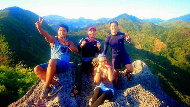 At the Summit of Mt. Pamitinan