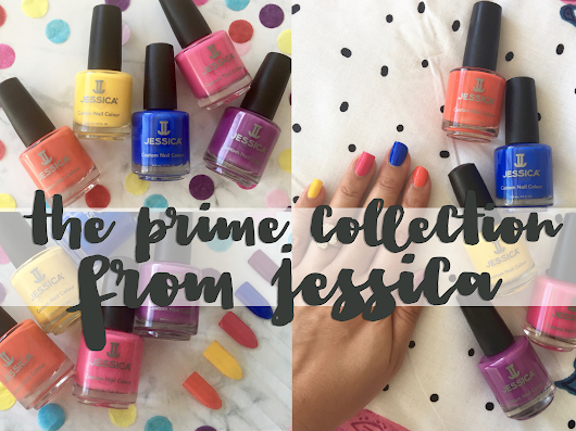 The new summer nail collection - Prime from Jessica