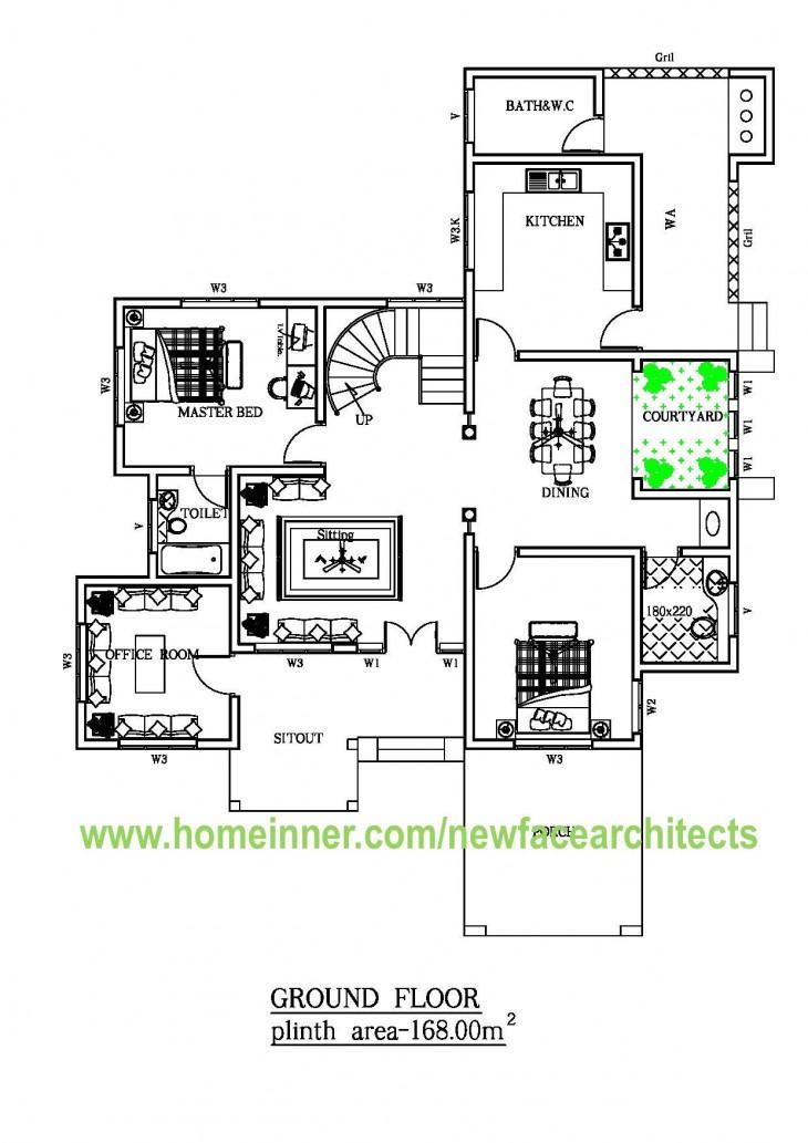 home designs floor plans india house plan sq ft kerala home kerala home plan elevation sq ft kerala home design
