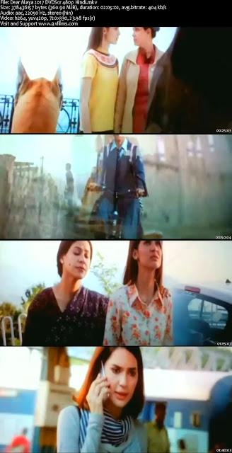 Dear Maya 2017 DVDScr 480p Hindi