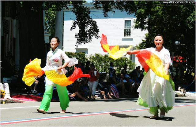 Danza de Corea Desfile del 4 de Julio de Bristol