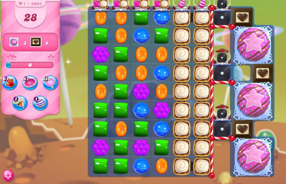 Candy Crush Saga level 5002