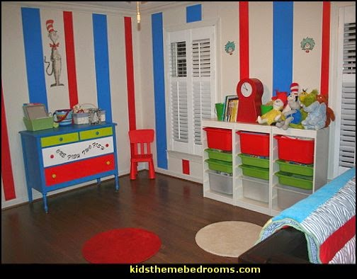 Dr Seuss theme baby bedroom Seussville style bedrooms