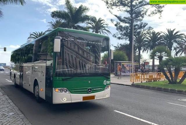 Horario del Servicio de Transportes Insular La Palma (TILP) a partir del lunes 16 de marzo y durante quince días