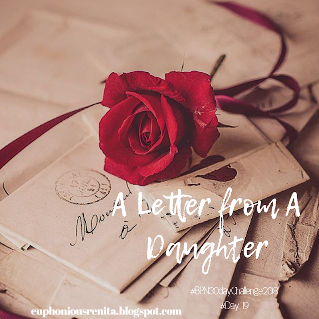 A Letter from A Daughter