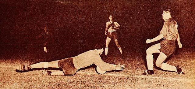 Chile y Ecuador en Campeonato Sudamericano de 1953