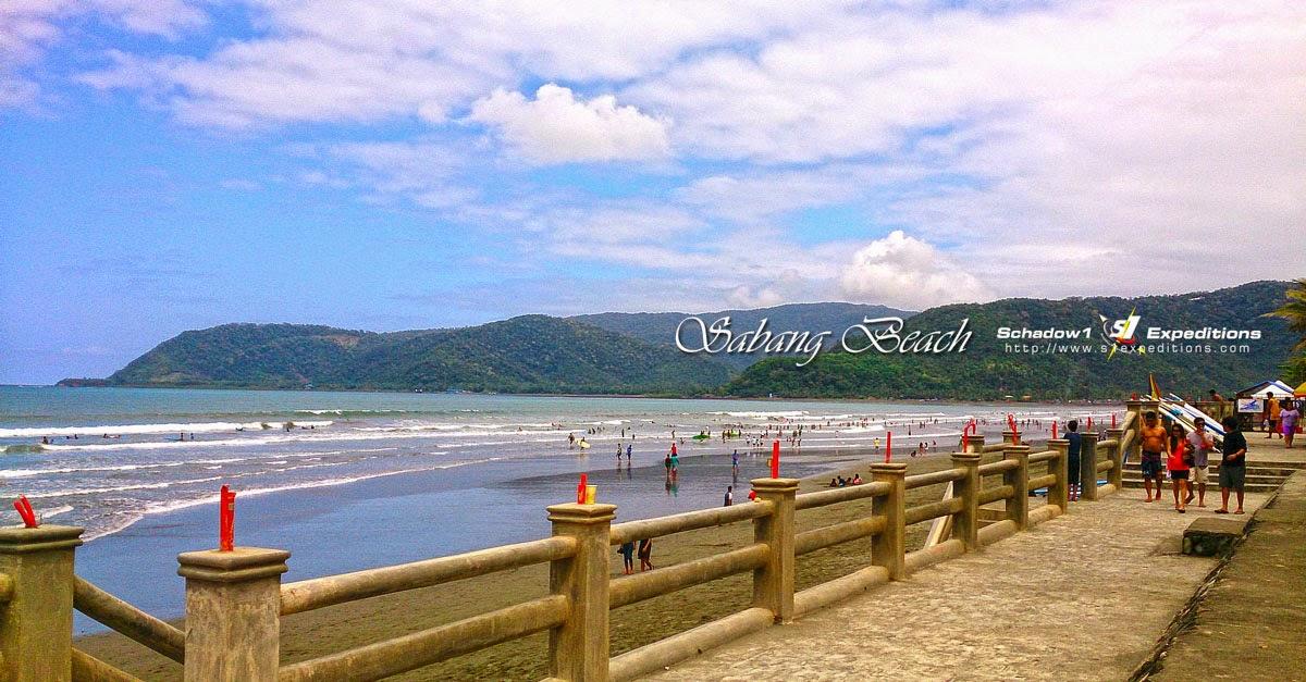 Sabang Beach, Baler - Schadow1 Expeditions