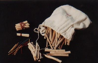 Bûchettes artisanale ou manufacturées (collection musée)