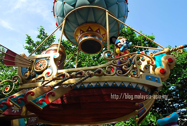 Mickey's Airship Hong Kong Disneyland Parade