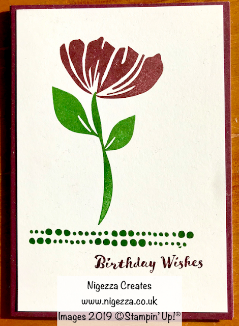 Stampin' Up! Bloom to Bloom Nigezza Creates