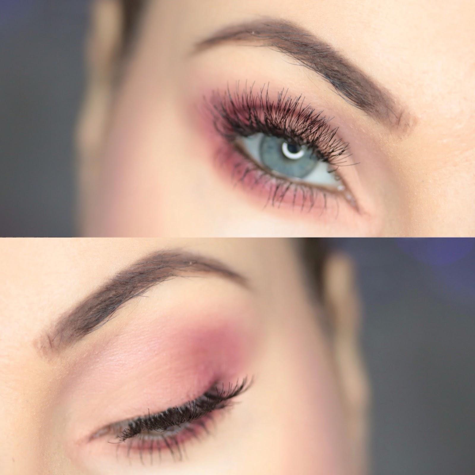 Zoeva Makeup - Brzoskwinia z odrobiną burgundu na Walentynki