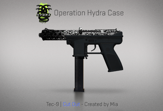 Operation Hydra Case - Tec-9 | Cut Out