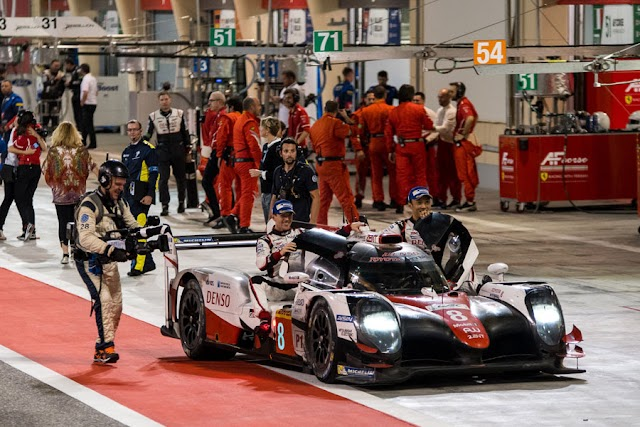 Toyota claims fifth victory of 2017 FIA WEC season in Bahrain