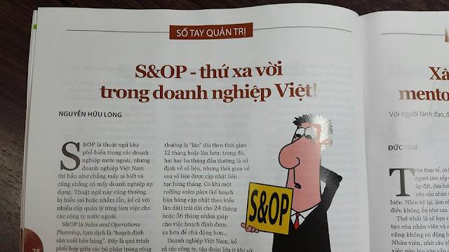 S&OP thứ xa vời trong doanh nghiệp Việt