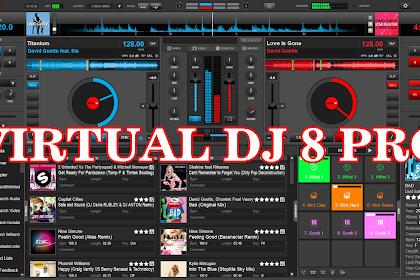 Free Download Virtual DJ Pro 8.2 Build 3409 Full Version Crack Plus Content for PC
