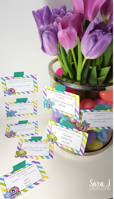 How to use task cards.  Frequently asked questions all about task cards.  Plus 2 free sets!