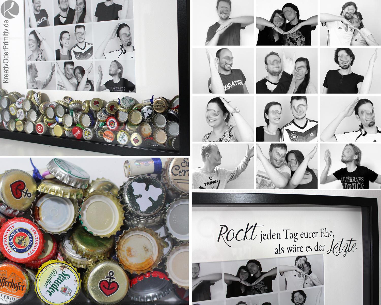 Kreativ oder Primitiv Gruppengeschenk zur Hochzeit