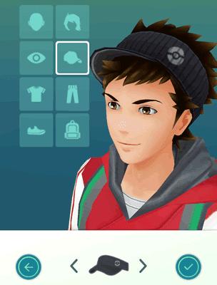 personalizza il tuo cacciatore di pokemon