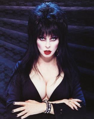 Elvira Mistress of the Dark costume, horror hostess