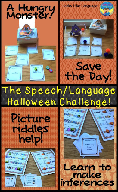 Ideas for learning to infer- The Halloween therapy challenge-Looks-Like-Language