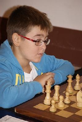 El joven ajedrecista Nicolás Jiménez Muñoz