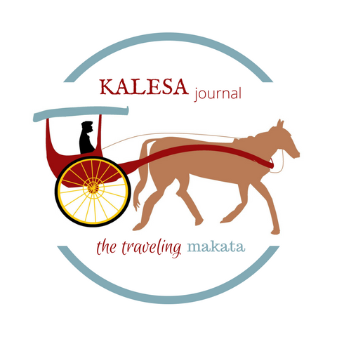 Grab button for Kalesa Journal