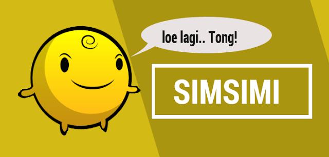 SimSimi v6.0.2 Android Untuk Teman Chating