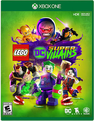 Lego Dc Super Villains Game Cover Xbox One Standard