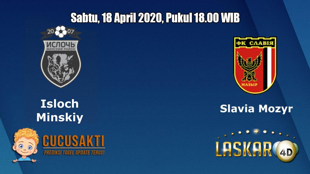 Prediksi Isloch Minsk VS Slavia Mozyr 18 April 2020