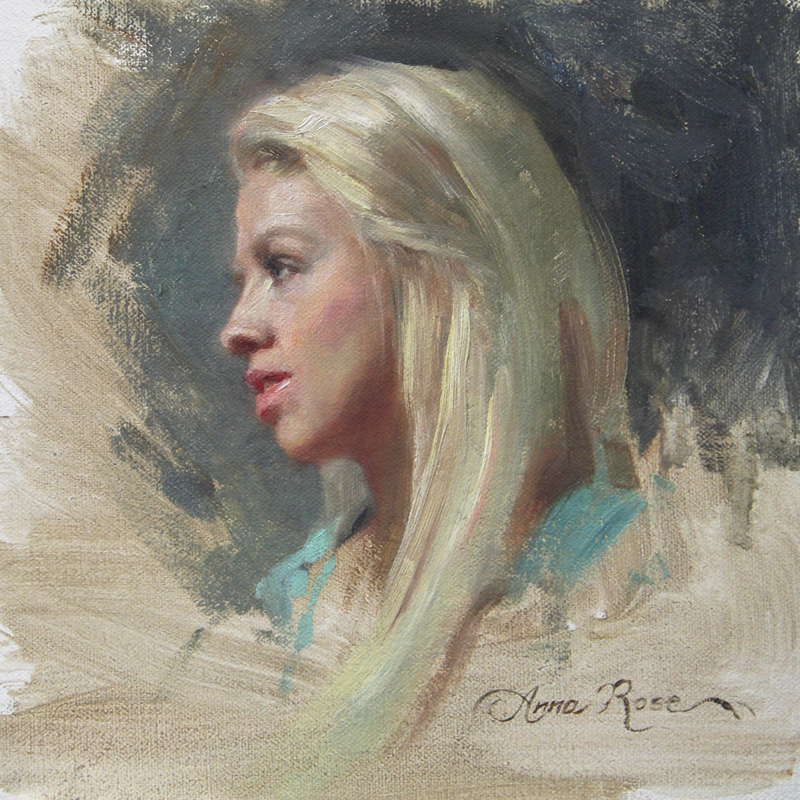 Anna Rose Bains Art Blog All About Blonde