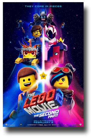 Chiil Mama Win The Lego Movie 2 The Second Part On Blu Ray