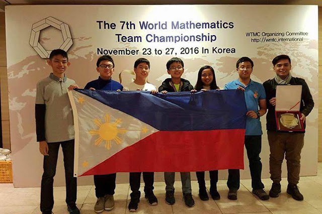 27 Medals for Filipino Students in World Math Tilt