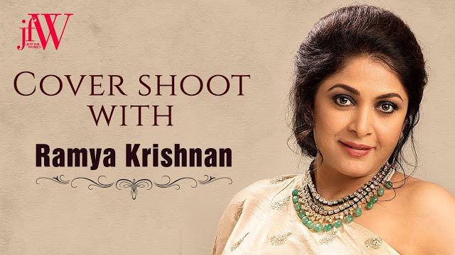 Ramya Krishnan on JFW Magazine Cover Photoshoot