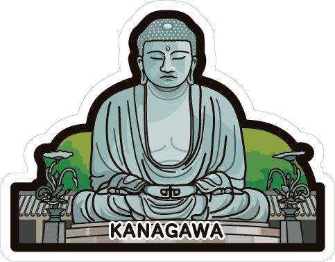 gotochi postcard Grand Bouddha de Kamakura