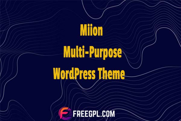 Miion – Multi-Purpose WordPress Theme Nulled Download Free