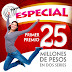 Resultados del Sorteo Especial 205 de la Lotería Nacional de México - miércoles 18 de abril  de 2018