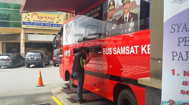 Jadwal Samsat Keliling Bulan September 2016 di Batam